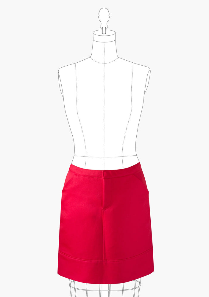 Grainline Studio Moss Skirt sewing pattern