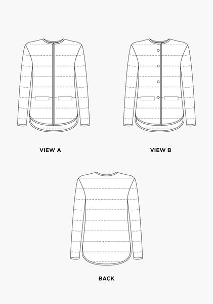 Tamarack Jacket Pattern