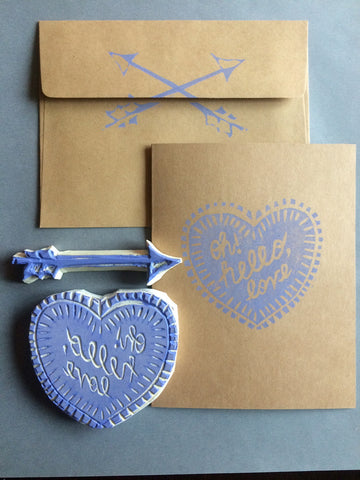 Block Printed Cards