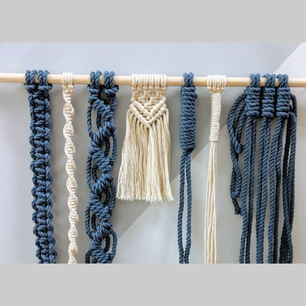 Beginner Macrame Sampler