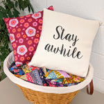Pillow Covers with Vinyl Decals