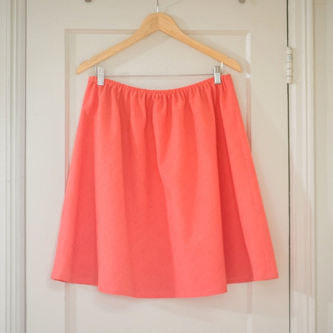 Beginner Garment Sewing: Skirt No. 1