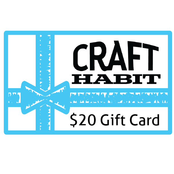 Craft Habit $20 Gift Card