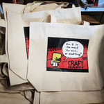 Evil or Crafting Tote Bag