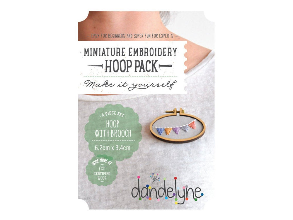 Dandelyne Mini Hoops