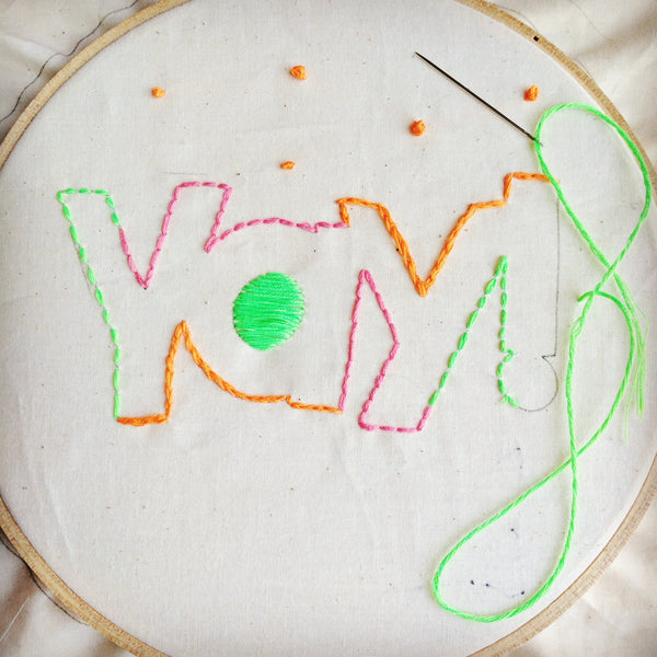 Junior Embroidery Kit