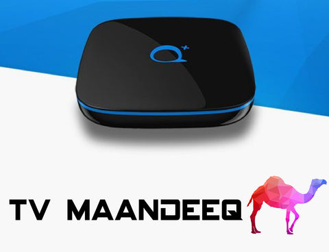 IPTV Receiver + 12 Month Subscription - TV MAANDEEQ