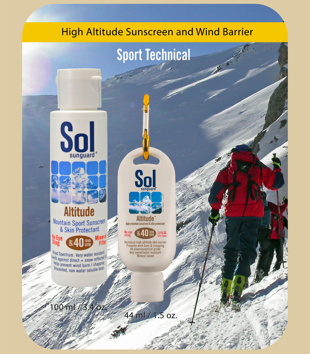 Altitude SPF 40   High Mountain Sunscreen and Wind Barrier