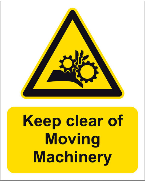 Keep Clear of Moving Machinery - Markit Graphics