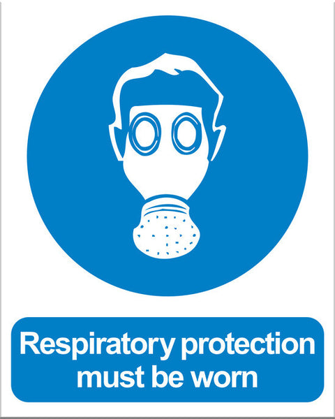 Respiratory Protection Must Be Worn - Markit Graphics