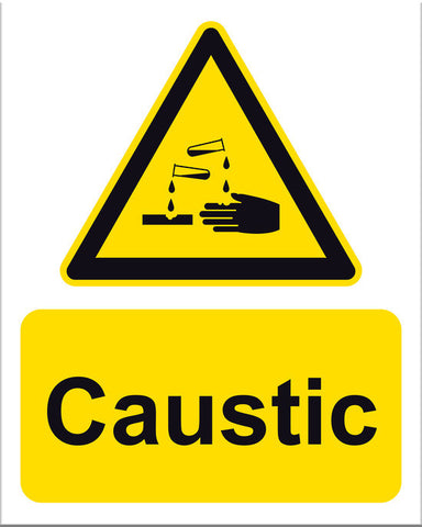 Caustic Sign - Markit Graphics