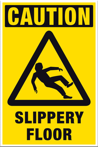 Caution Slippery Floor - Markit Graphics