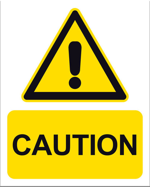 Caution Sign - Markit Graphics
