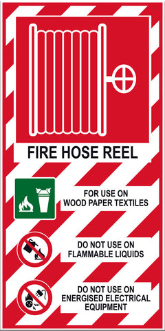 Fire Hose Reel Sign - Markit Graphics
