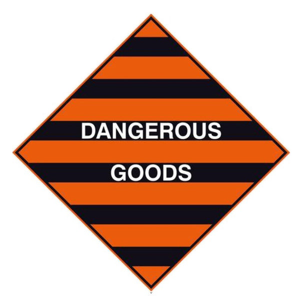 Dangerous Goods (Bumble Bee) Labels - 10 Pack