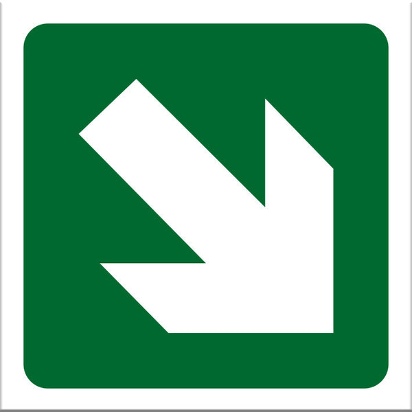 Angled Arrow Sign - Markit Graphics