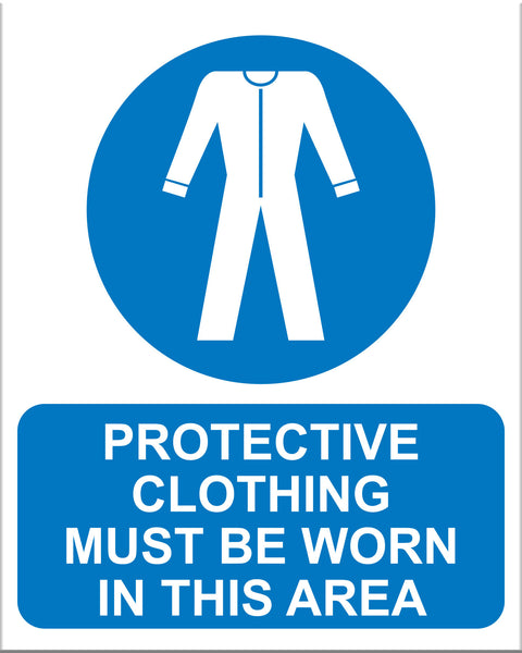 Protective Clothing Must Be Worn - Markit Graphics