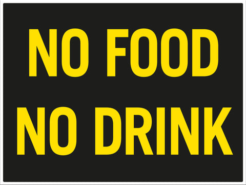 No Food No Drink - Markit Graphics