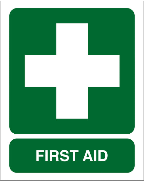 First Aid Sign - Markit Graphics