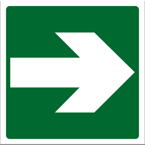 Arrow Green Sign - Markit Graphics