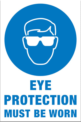 Eye Protection Must Be Worn - Markit Graphics
