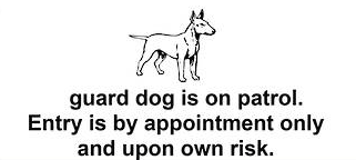 GUARD DOG ON PATROL - Markit Graphics