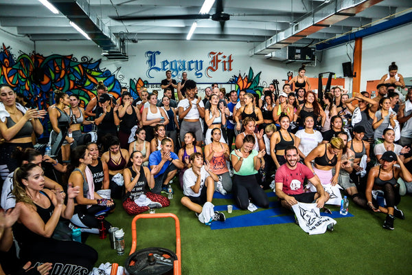 Legacy Fit x MC Customs Happy Hour Bootcamp!