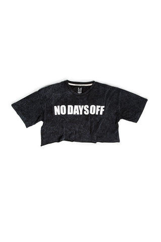 OVERSIZED NO DAYS OFF CROP