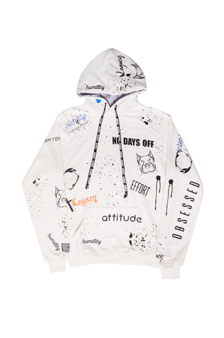 """Off White"" Word Play Hoodie"