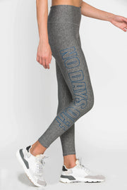 Grey Logo Legging