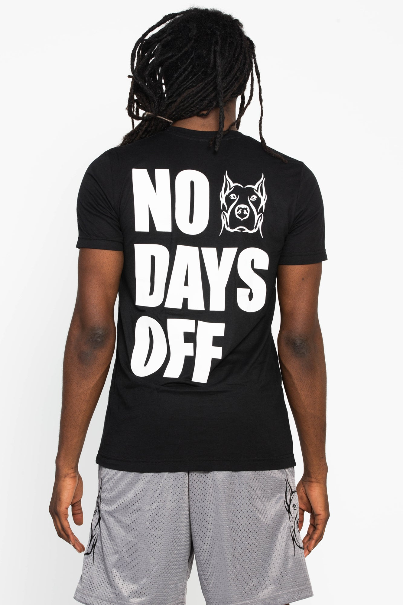 No Days Off Crew Neck Tee