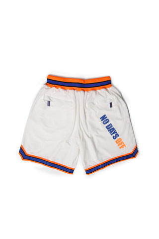 BASKETBALL SHORTS IN WHITE