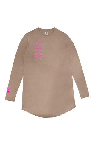 Legacy Cafe Pink Long Sleeve