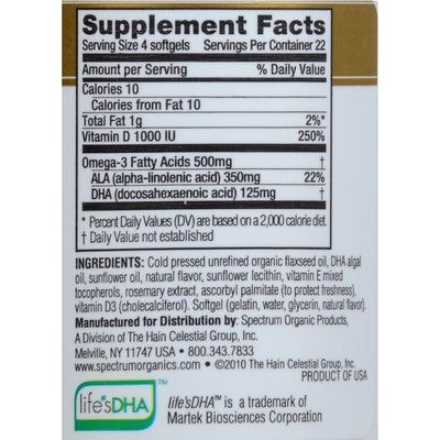 Spectrum Essentials Children's DHA Strawberry Banana - 90 Chewable Softgels