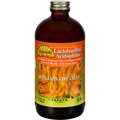 Dynamic Health Lactobacillus Acidophilus Papaya - 16 fl oz