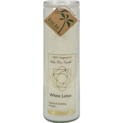 Aloha Bay Chakra Jar Candle: White Lotus, 11 oz