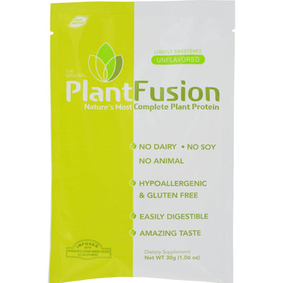 Plantfusion Unflavored Packets - Case of 12 - 30 Grams