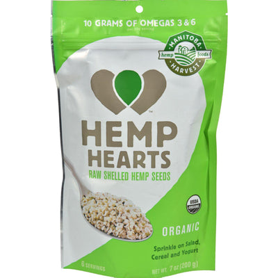 Manitoba Harvest Certified Organic Hemp Hearts Shelled Hemp Seed