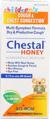 Boiron Chestal - Cough And Chest Congestion - Honey - Childrens - 6.7 Oz