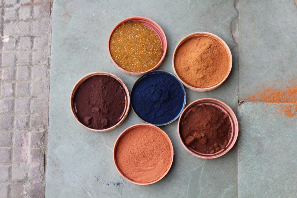 The Four Artful Plant Dyes