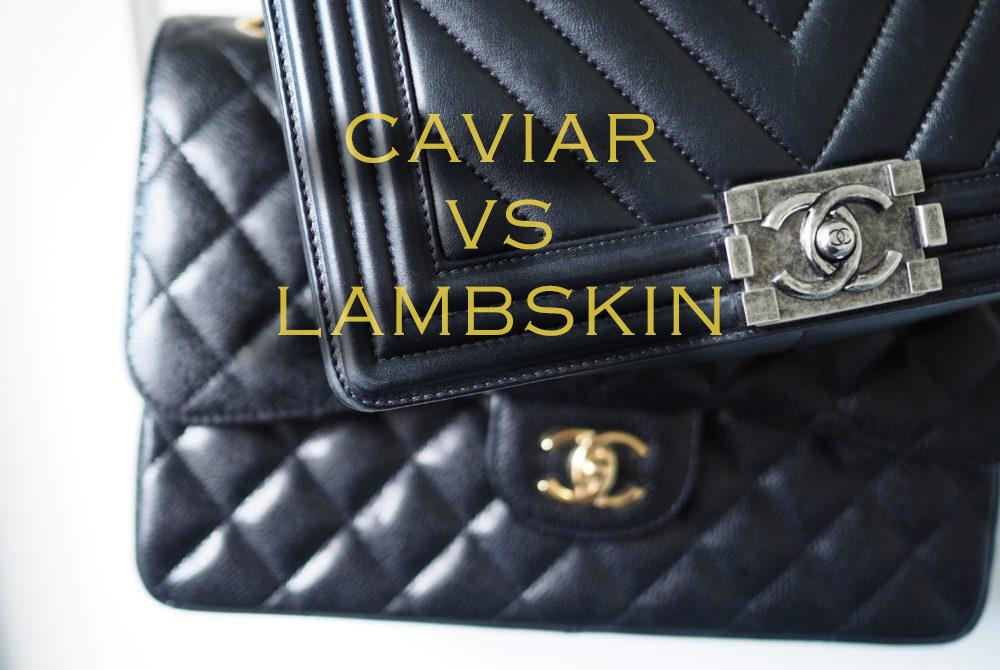 13f963a4f401ca CHANEL CAVIAR VS LAMBSKIN – THE ULTIMATE GUIDE