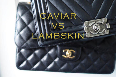 CHANEL CAVIAR VS LAMBSKIN – THE ULTIMATE GUIDE