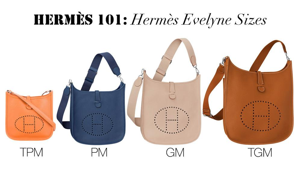 Hermes Showcase: Hermes Evelyne Bag