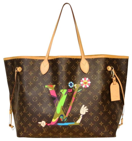 Louis Vuitton Takashi Murakami MOCA Neverfull GM