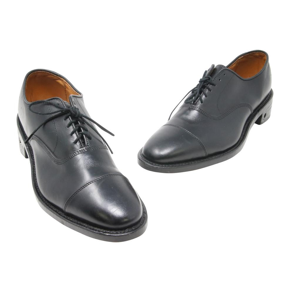 Allen Edmonds Black Park Avenue Custom-made Leather Oxford D Shoes