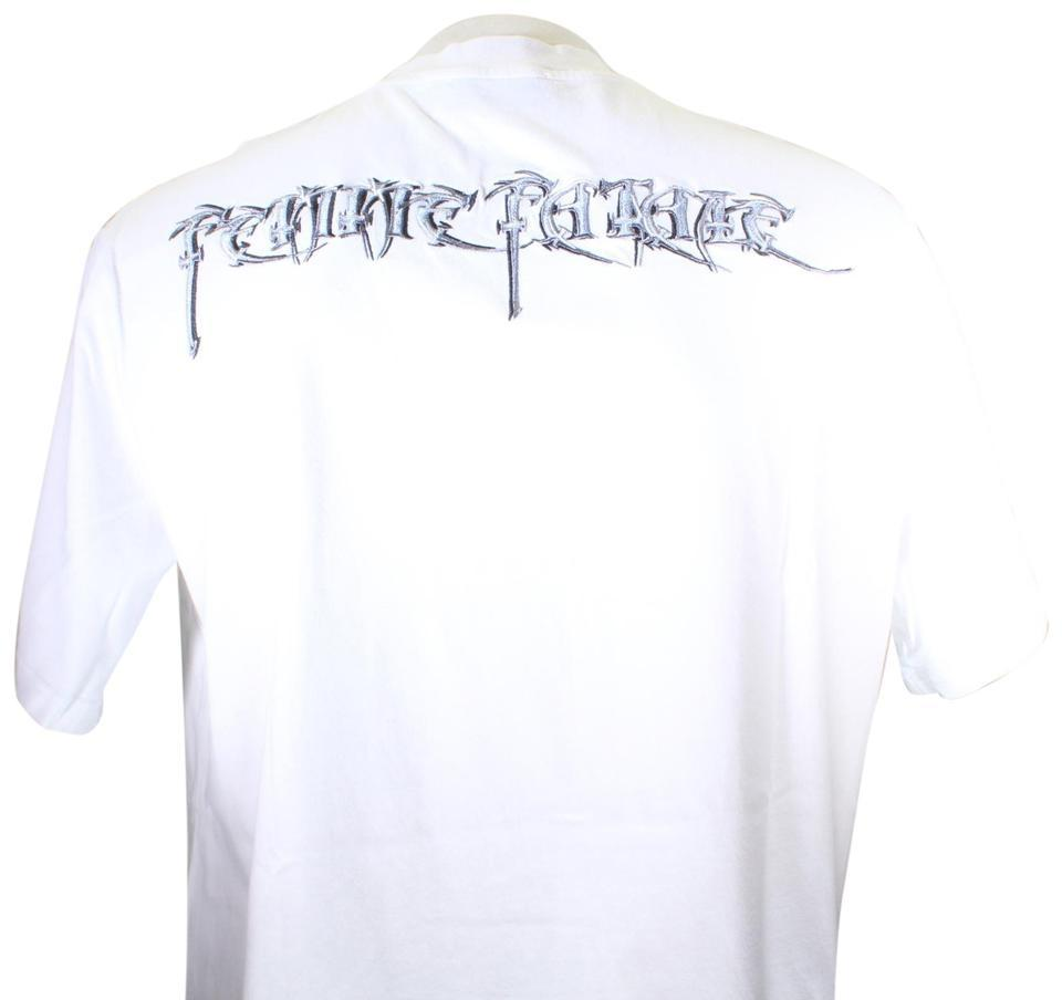 Balenciaga White L Femme Fatale Embroidery Oversize Sold Out Tee Shirt