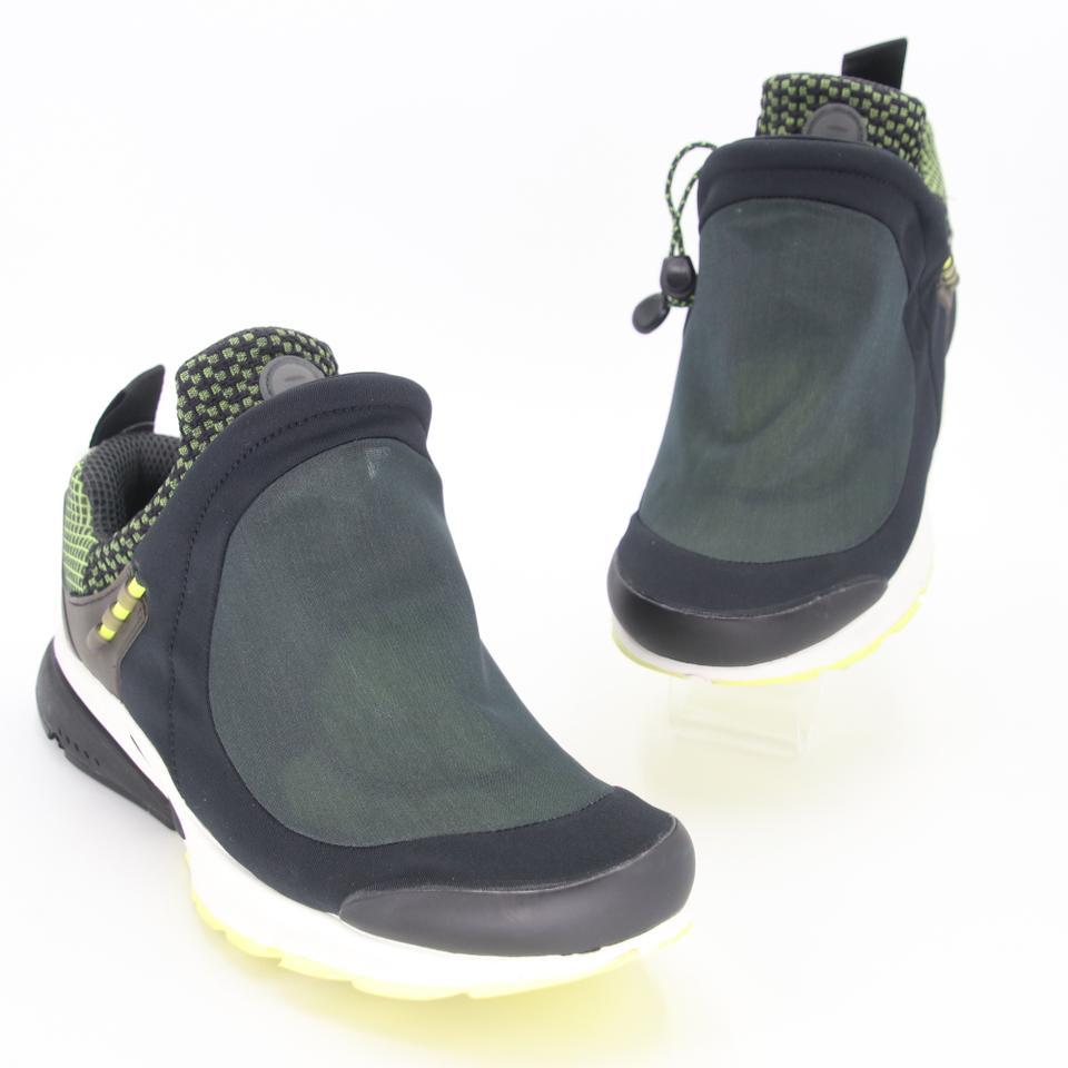 COMME des GARÇONS x Nike Black Presto Tent Green Nylon Sneakers Shoes