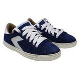 Dsquared2 Blue Suede Skate Or Die Sneakers Shoes
