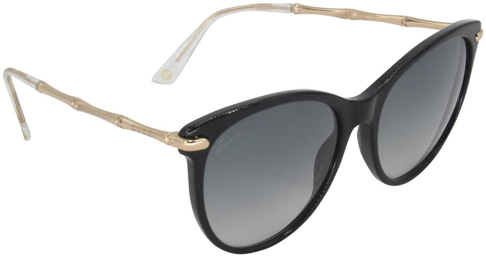 Gucci Black Bio Based Cat Eye Made In Italy Sunglasses