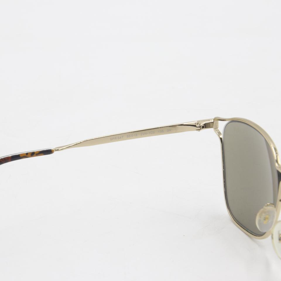 Prada Polished Gold Spr 54t Finish Frame Aviators Unisex Sunglasses